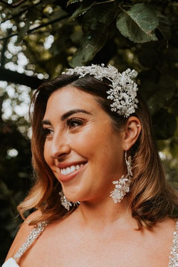 glam bridal pearls spanish fiesta pure b