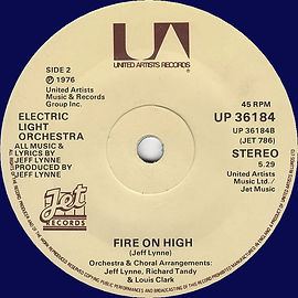 Fire On High UP 36184 Blue Vinyl