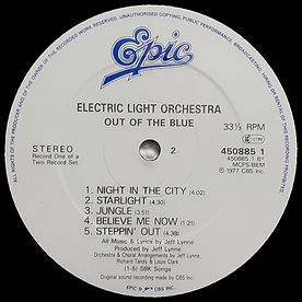 Out Of The Blue 45085 LP Label Side 2 V3