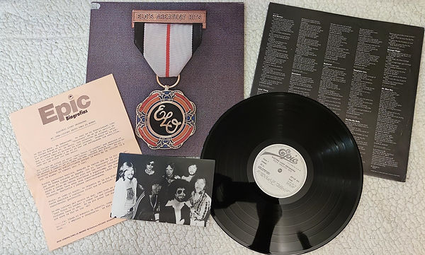 ELO Greatest Hits Vol 1 Promo Pack - Jet LX 525 - Spain