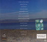 Jeff Lynn Armchair Theatre Promo Rear Cover