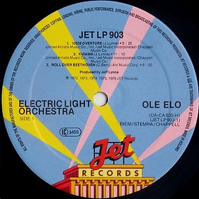 OLE ELO JET LP 903 - Less Rim Text
