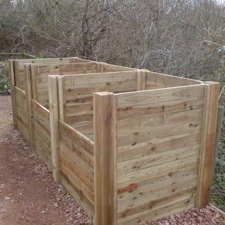 Alun Gredrych - Pressure Treated Compost Bins