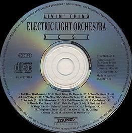 Livin' Thing - Best Of ELO CD 27200460 B
