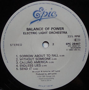 Balance Of Power EPC 26467 Side B