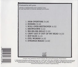 OLE ELO CD Rear Cover