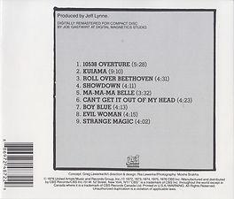OLE ELO CD Rear Cover