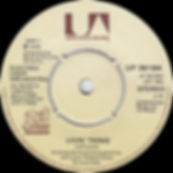 """Livin Thing Missing """"45 RPM"""" JET UP 36184"""