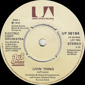"Livin Thing Missing ""45 RPM"" JET UP 36184"