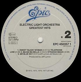 ELO Greatest Hits EPC 450357 1