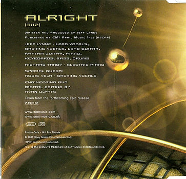 Alright CD Promo Single