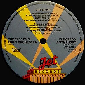 Eldorado Jet LP 203 / UA-LA339G - Less Rim Text