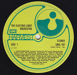 ELO LP SHV 797 EMI Issue 1981