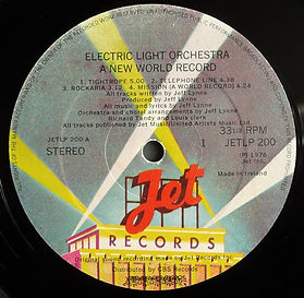A New World Record Jet LP 200 - Ireland