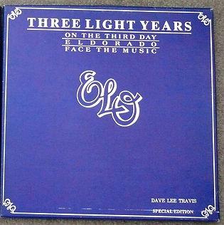 ELO 3 Light Years Promo Box Set - 1978