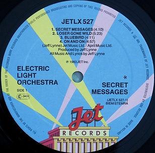Secret Messages Jet LX527