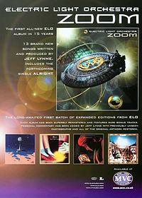 Zoom CD - Magazine Add Flyer