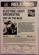 Out Of The Blue Issue Advert Oct 1977