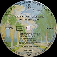 On The Third Day - WB 56 021 - LC 0392
