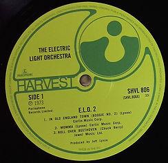 ELO2 LP ReIssue 2016
