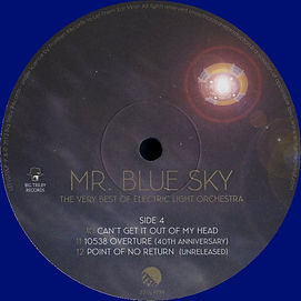 Mr Blue Sky - Blue Vinyl - LETV070LP