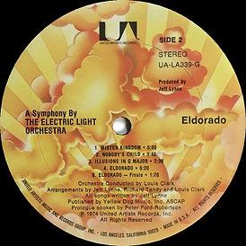 Eldorado UA-LA339-G Sunburst Label