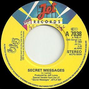 Secret Messages JET A 7038 Large Hole