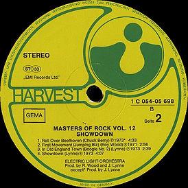 Masters of Rock - Vol 12 - Showdown 1C 054-05 698