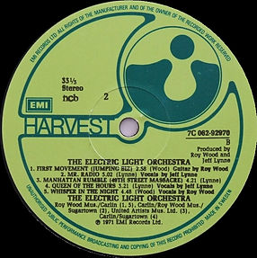 The Electric Light Orchestra - 7C 062-92970