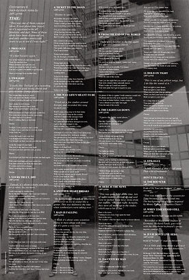 Time CD EK 85421 Inlay Lyrics