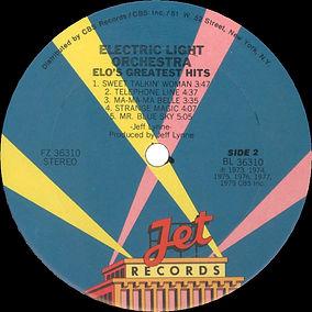 ELO Greatest Hits FZ 36310 Side 2