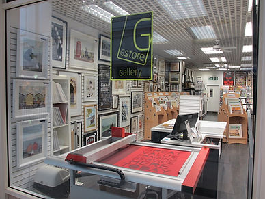 G Store Crawley Mount and Framing