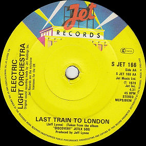 Confusion / Last Train To London JET 166