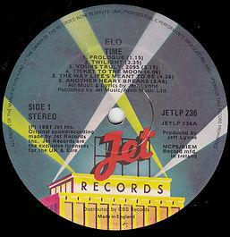 Time LP JETLP 236 - Ireland