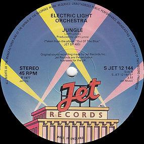 Jungle S Jet 12 144 Black Vinyl