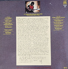 Greatest Hits LP Rear Cover Holland Jet Issue