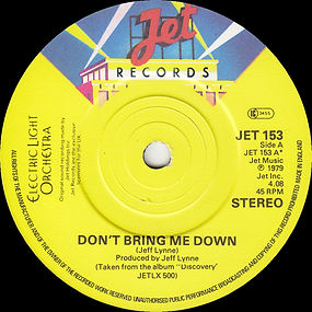 Don't Bring Me Down JET 153