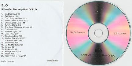 """""""Shine On"""" UK Promo CD-R"""