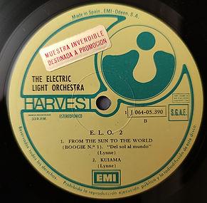 ELO 2 - SPAIN Harvest J 064-05390