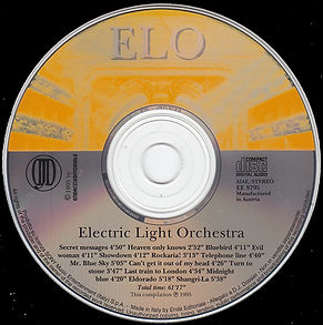 Electric Light Orchestra CD - Italy EE9795