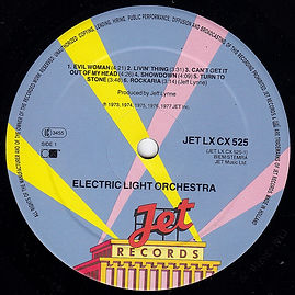 ELO Greatest Hits Jet LX CX 525