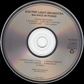 Balance Of Power CD ZK 40048