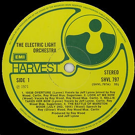 ELO LP SHV 797 EMI Issue 1981
