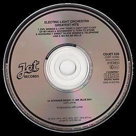 ELO Greatest Hits Jet CD525