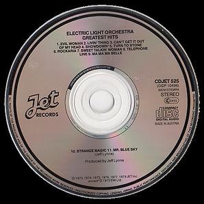 ELO Greatest Hits Jet CD525