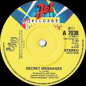 Secret Messages JET A 7038