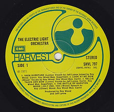 ELO LP SHV 797 EMI Issue V3