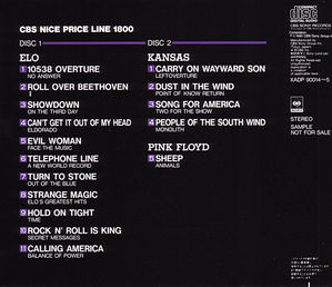 ELO -CBS Nice Price Line