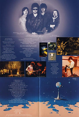 Time Remaster CD Booklet