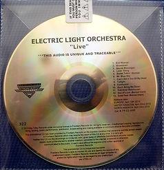 ELO 2001 Live Promo CD